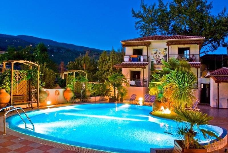 Enalion Hotel - Kala Nera - Pelion Pool & Beach